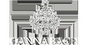 Логотип Hannabach, чья продукция представлена в салоне Минотавр