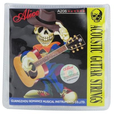 Струны для акустической гитары Alice A206-SL в упаковке