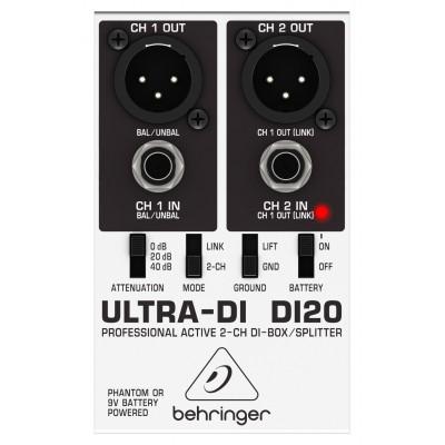 Директ-бокс Behringer Ultra-DI DI20 под заказ в Челябинске