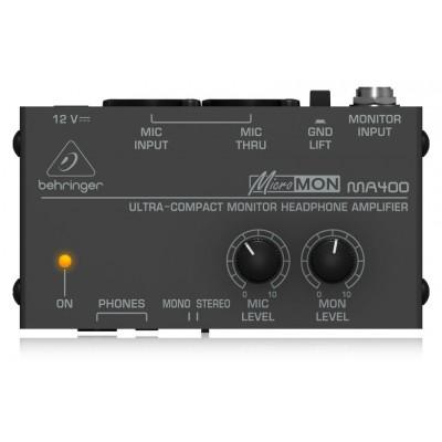 Мониторный усилитель для наушников Behringer MicroMON MA400 под заказ в Челябинске