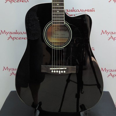 Акустическая гитара Caraya F601-BK, фото Музыкального Арсенала