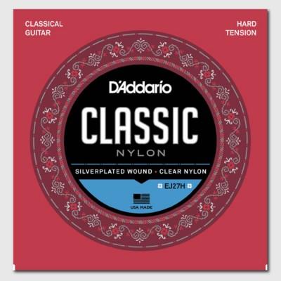Струны для акустической гитары D'Addario EJ27H Classic Nylon