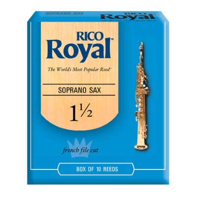 Трости Rico Royal Soprano Saxophone Reeds 1 1/2