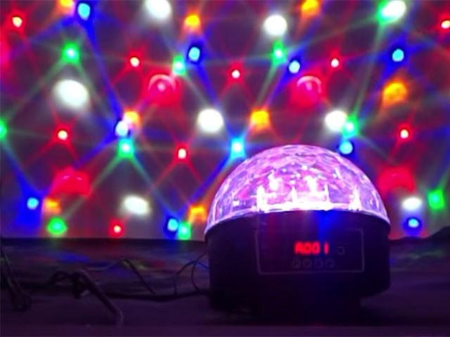 Магический шар Big Dipper L001, демонстрация эффекта